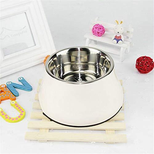 MYYXGS Einzigartiges Design zur Verbesserung der Hundenapf, Nicht verschüttete Überkopf-Futternapf erhöht Hund, Hals kein Druck Anti-Rutsch-Feeder 19 * 13cm