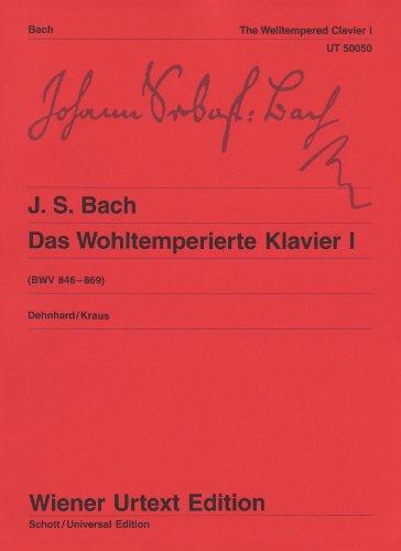 Wohltemperierte klavier 1 piano: BWV 846 - 869 / Nach dem Autograf und Abschriften