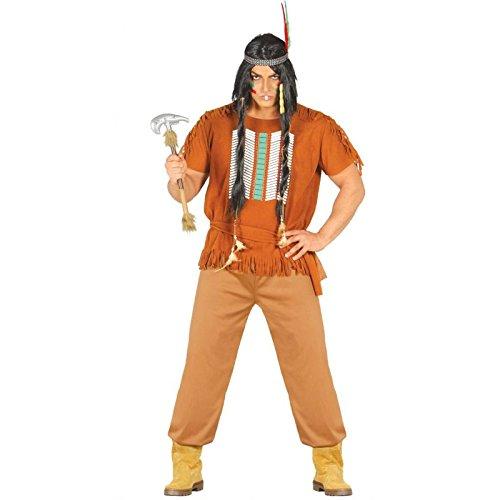 Disfraz de indio apache adulto