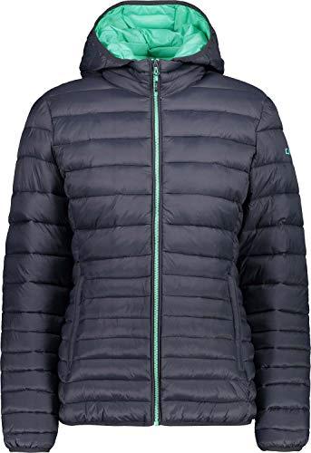 CMP Damen Isolationsjacke Jacke, Antracite-Aquamint, 36