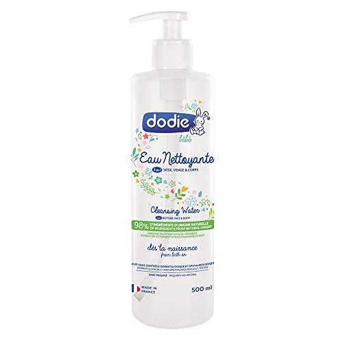 Dodie - Eau nettoyante 3 en 1, Dès la naissance, 500ml