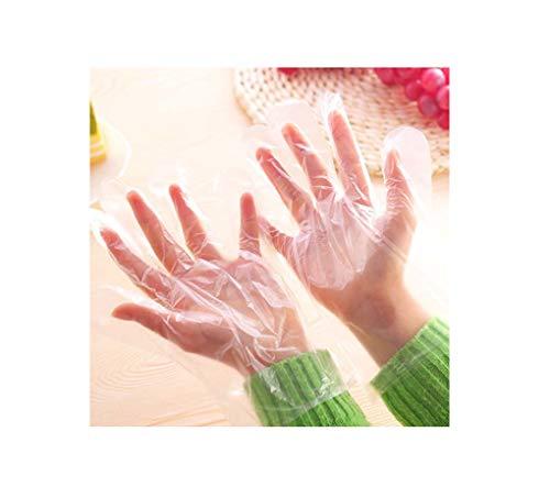 Wegwerphandschoenen Food Grade PE-folie Huishoudelijke keuken Hygiënebescherming Handschoenen tegen kruisbesmetting (500 paar)
