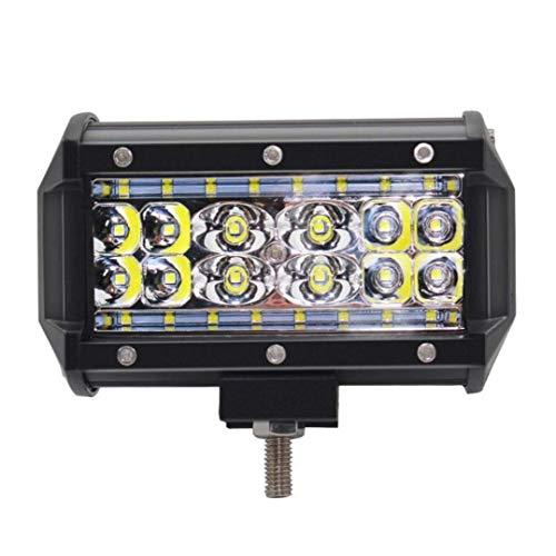 CKQ-KQ LED Light Bar 5 inch Led Work Lights 84W Waterproof Spot Lights Off-road rijden Led Back-up Driving Lights Bumper Grill voorruit Lampen for Truck Jeep Polaris ATV UTV SUV Tractor Bo