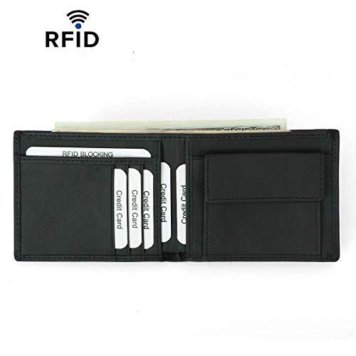AliExpress Hot Sale Anti-Diefstal Borstel RFID Header Level Koeienhuid Portemonnee Koreaanse versie van de lederen mannen portemonnee aangepast vet