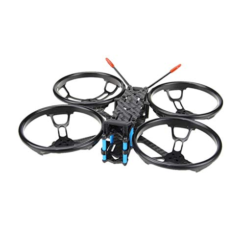 HUANRUOBAIHUO for Sector 150 FPV Racing Drone Freestyle Carbon Fiber Frame Kit with 3 Inch Propeller Guard Quadcopters Accessories (Color : Black)