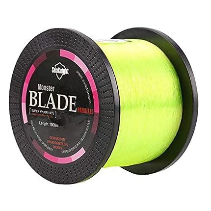 SeaKnight Blade Nylon Linea de Pesca 500m/1000m Japan Material Monofilamento Carpa Linea de Pesca sedal 2-35LB
