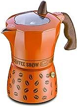 Gat Coffee Show Espresso Makinası 6 Kişilik (Turuncu)