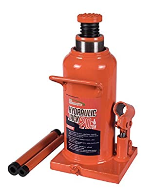 BAISHITE Welding Hydraulic Bottle Jack 4-16 Ton Capacity Orange Yellow
