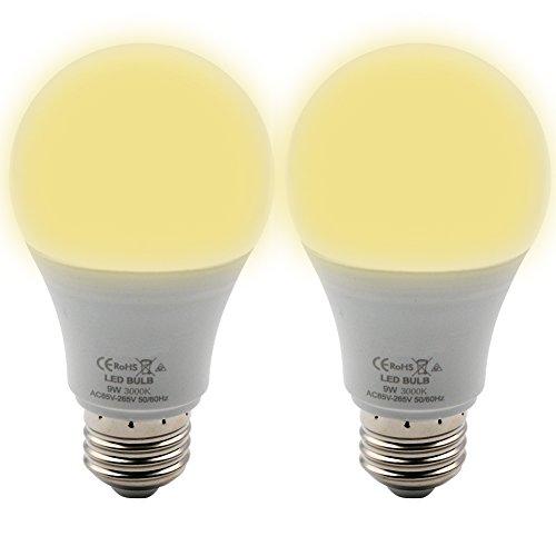 BeiLan Bombillas LED A60, E27, A+
