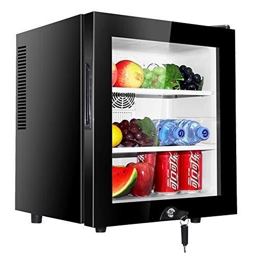 Mini Frigo avec Serrure, 30 L Autoportant Mini Réfrigérateur Petit, Minibar de GREATY