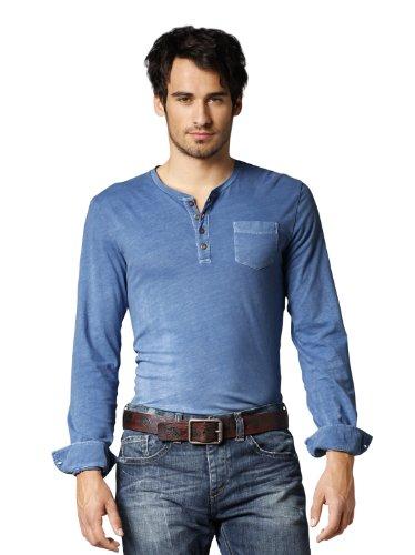 Bogner Fire + Ice Herren Shirt OLSEN, blue, 48, 8411-1509