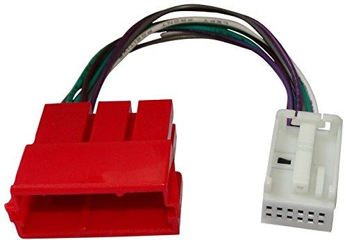AERZETIX: AUX adapter-aansluitkabel cd-oplader mini ISO 8-pins Quadblock voor auto naar 12pin