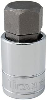 Titan Tools 15621 1/2-Inch Drive x 21mm Hex Bit Socket