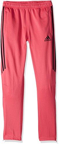 adidas Youth Tiro 17 Pant, Real Pink/Black, Large