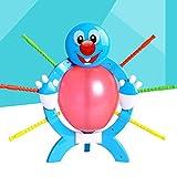 TOYANDONA Crazy Party Game Ballon Boom Burst Stimulating Interesting Plastic Balloon Game for Parent-Child Awards