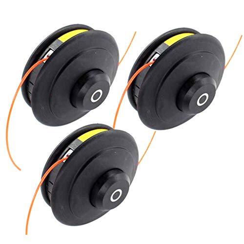 AISEN 3x PROFI Doppelfadenkopf Tippautomatik Spule Fadenspule für Honda Benzin Motorsense