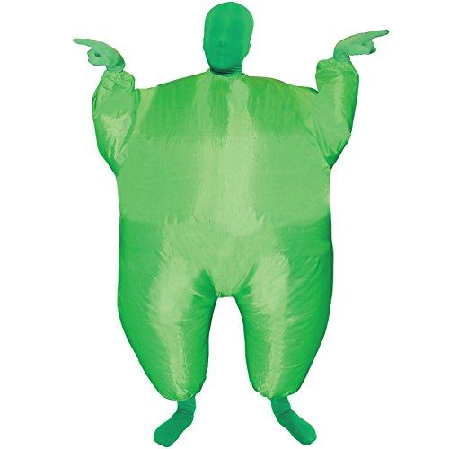 Morph Costume da MegaMorph Gonfiabile Verde Bambini - Taglia unica