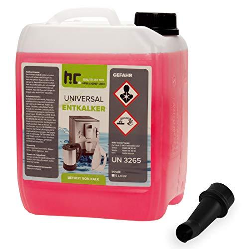 10 Liter Universal Entkalker 2 x 5 L mit Farbindikator von Höfer Chemie