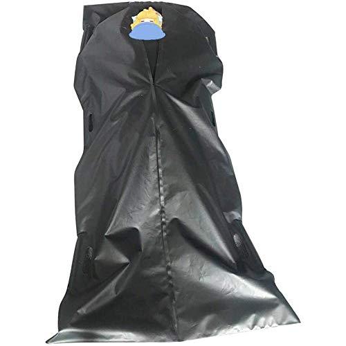XER Cadáver de PVC Bolsa de cadáver Bolsa a Prueba de Fugas 210D Impermeable Cuerpo de Embalaje Bolsa Bolsa de Almacenamiento a Prueba de Viento Cuerpo Suministros de Funeral de Inicio
