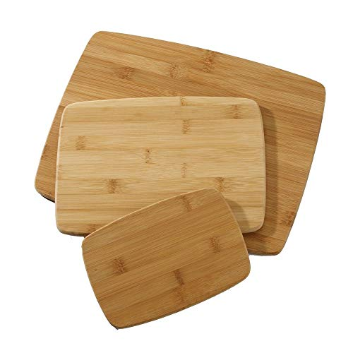 Farberware 5070344 Bamboo Cutting Board, Set of 3,