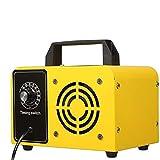 NIDONE Máquina de ozono Purificador de Aire Máquina de ozono Desodorizador de Aire Industrial para el Control de la Parada de Olor Amarillo 32g