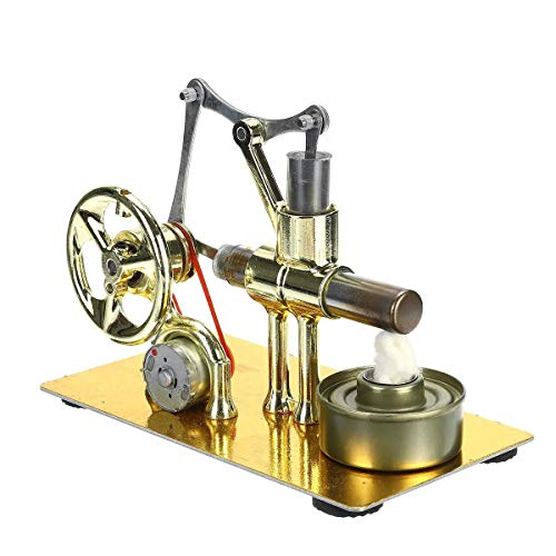 Generador de potencia del motor Física Ciencias de la Educación Juguete mini aire caliente del motor Stirling Modelo Para experimentos científicos