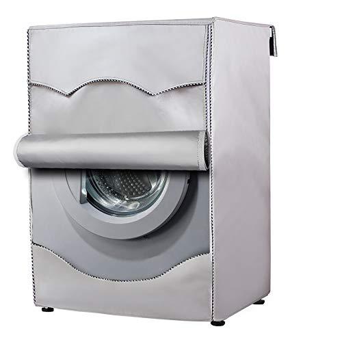 Copertura Lavatrice per Esterno per Le lavatrici & Asciugatrice Coprilavatrice di Spessore Migliore Performance di Crema Solare Anti-ultravioletti Impermeabile Antipolvere(Tela più Spessa,60x64x85cm)