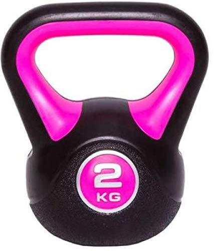 C.P.Sports - Pesa rusa (vinilo, 2 kg, 3 kg, 4 kg, 5 kg, 6 kg, 8 kg, 10 kg, 12 kg, 14 kg, 16 kg, 18 kg, 20 kg), 2 kg.