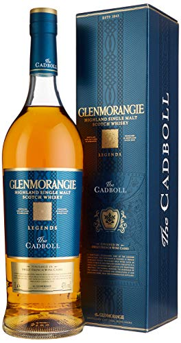 Glenmorangie The CADBALL Legends mit Geschenkverpackung Whisky (1 x 1 l)