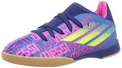 adidas X SPEEDFLOW Messi.3 IN J, Zapatillas Deportivas, AZUVIC/ROSSHO/Amasol, 34 EU