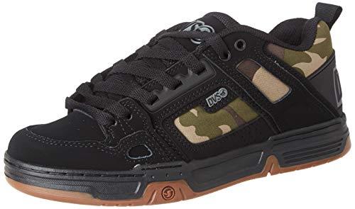 DVS Unisex-Erwachsene Comanche Skateboardschuhe, Schwarz (Black Camo Nubuck 983), 44 EU