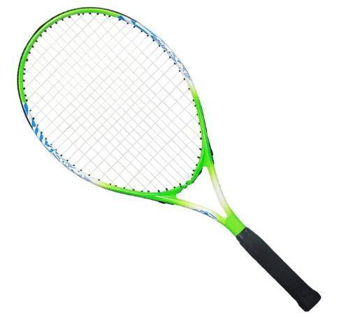 Raqueta de Tenis para niños, Estudiantes de Primaria y Secundaria, Principiantes, artículos completos para niños, 25 Pulgadas