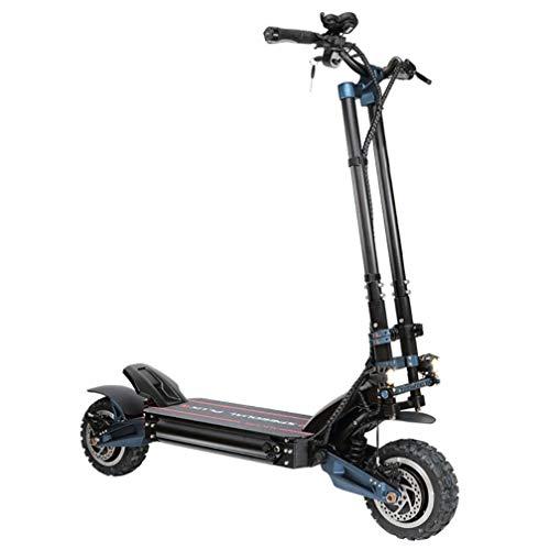 MACURY Scooter eléctrico de Alta Velocidad - Motores Dobles Off Road Scooter 72V / 3200 vatios Motor Doble con neumáticos Todoterreno de 11 Pulgadas Velocidad máxima de hasta 110 km/h Superpotencia