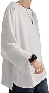 [フローライズ] ビッグt ラウンドカット 無地 カットソー Tシャツ tシャツ メンズ 大きい おおきい サイズ