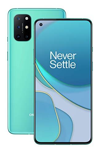 "OnePlus 8T 16,6 cm (6.55"") 8 Go 128 Go Double SIM 5G USB Type-C , OS 4500 mAh 8T, 16,6 cm (6.55""), 8 Go, 128 Go, 48 MP, Oxygen OS, Argent, Aquamarine Green"