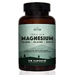 An Anti-Stress magnesium supplement designed to help you relax. Triple Calm blends the best forms of chelated magnesium for optimal absorption. This magnesium blend is easy on your stomach unlike citrate and other forms of magnesium! A great suppleme...
