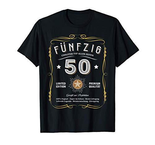 Herren 1971 Geburtstag Männer 50 Jahre Lustig 50er 50 Geburtstag T-Shirt