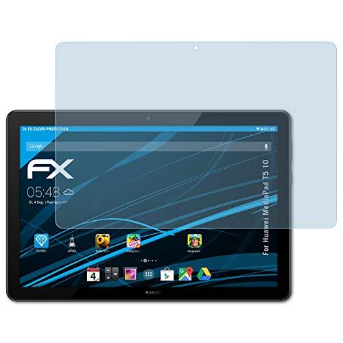 atFoliX Anti-Choc Film Protecteur pour Samsung Family Hub RF56M9540SR//EF Film Protecteur Ultra Clair et Absorbant Les Chocs FX Protecteur d/écran 2X