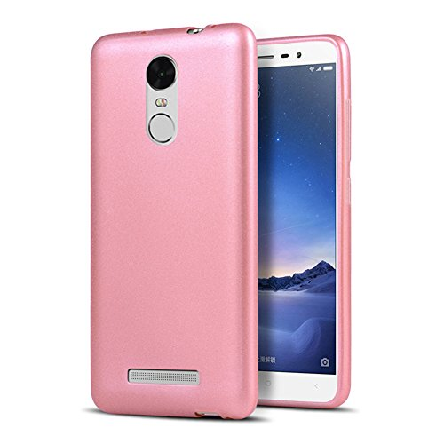 Xiaomi Redmi Note 3 Pro Prime Special Edition Case, Thin Scrub TPU Silicone Soft Rock Sand Matte Back Phone Cover Case For Xiaomi Redmi Note 3 Pro Prime SE 152 mm, Rose Gold
