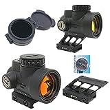 AERITH BLACK 最新改良レンズ Tr MRO タイプ レプリカ ドットサイト ダットサイト 電池 キルフラッシュ付 ローマウント F1タイプ ハイマウント 刻印入り MRO (F1 dot)