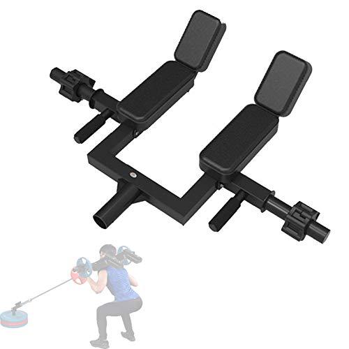 Spalla Rack Landmine Porta-Bilanciere, Heavy T-Bar Row Parallel Landmine Handle per Spallacci E Area Lombare - Sollevamento Pesi, Bodybuilding