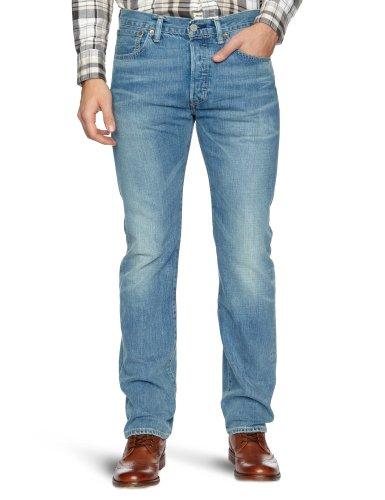 Levi's Herren 501 Original Fit Jeans, Broken Blues Stf, 30W / 30L