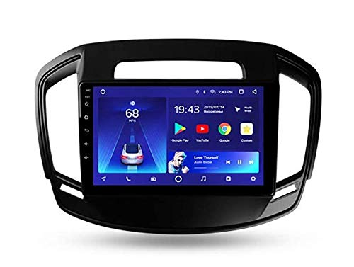 LINGJIE Autoradio Doppio DIN Car Stereo per Opel Insignia 2013-2017 Navigatore GPS unità Principale da 9 Pollici Digital SAT NAV Lettore multimediale Ricevitore Video Carplay DSP RDS