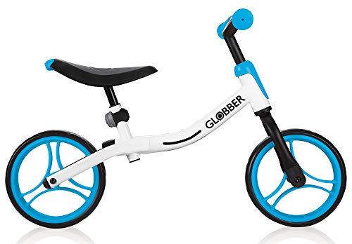 Globber Go Bike 610-160 White-Sky Blue, 1 Größe
