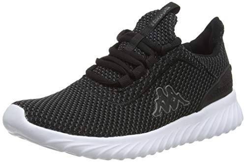 Kappa Unisex Deft 242684-2110 Sneaker, Schwarz (Black 242684-1110), 42 EU