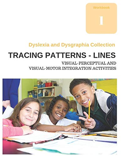 Dyslexia and Dysgraphia Collection - Tracing Patterns - Lines - Visual-Perceptual and Visual-Motor I