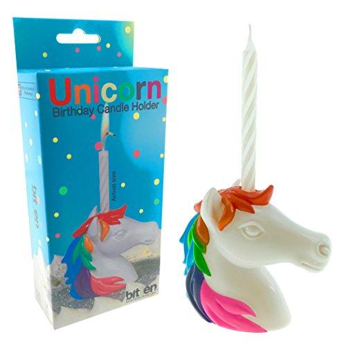 Unicorn Birthday Candle Holder : Cake Decoration, Party Supplies