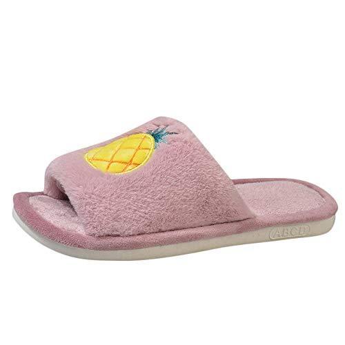 HIUGHJ Zapatillas Casuales para Mujer Zapatos Antideslizantes Zapatillas Salvajes...