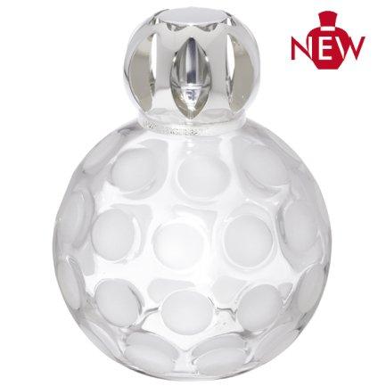 Maison Berger Paris Duftlampe 4423 Sphère weiß + 1 Stück HEVO ® Feuerzeug Gratis