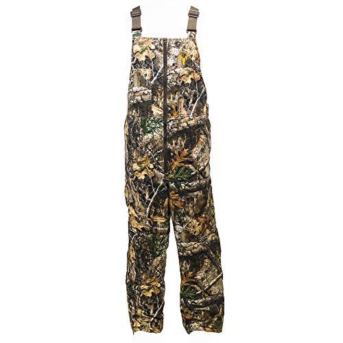 HOT SHOT Men's Insulated Realtree Camo Bib, Adjustable Height, Leg...
